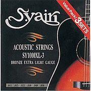 S.Yairi アコースティックギター弦 SY-1000XL-3 3セットパック