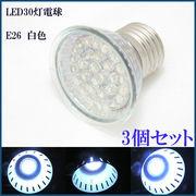 30LED電球 E26 白色 30LED/E26/WHITE