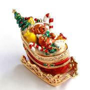 【限定SALE】マロンのゆきぞり 宝石箱(クリスマス) ジュエリーボックス