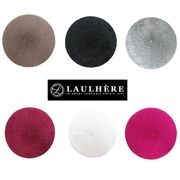 【再入荷】LAULHERE フランス製 アンゴラベレー帽 2015AW