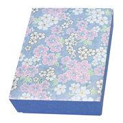 友禅紙 貼箱 はがきサイズ 4053-5