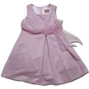 美しきジョイス ふんわり広がるシルエットが可愛いドレス(濠Du)ピンク 95-110cm