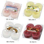 【キャンドル】YANKEE CANDLE YCクリアカップティーライト4個セット/生活雑貨