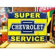 アメリカンブリキ看板 シボレー/Chevy サービス