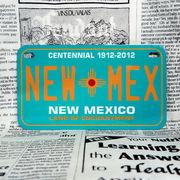 好きな文字にできるアメリカナンバープレート(中・USバイク用サイズ)ニューメキシコ