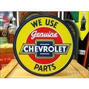 アメリカンブリキ看板 シボレー -Genuine Parts-