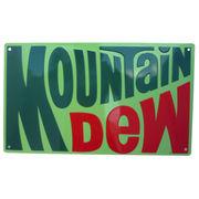 エンボスメタルサイン MOUNTAIN DEW
