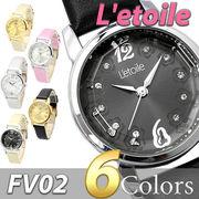 フラワーモチーフ レディース 腕時計 FV02