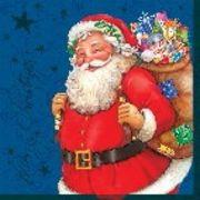 Maki  ペーパーナプキン クリスマス サンタクロース×プレゼント