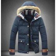 ミニ丈 迷彩柄綿入コート 綿入ジャケット ブルゾン メンズ ブルゾン防寒アウター