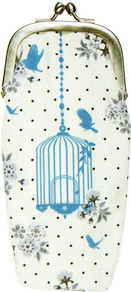 LES INVASIONS EPHEMERES めがねケース 小物入れとして使用可 鳥籠