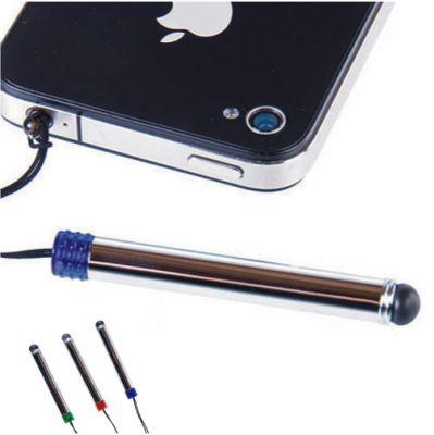 スマホ用タッチペン / 携帯 イヤホンジャック ストラップ