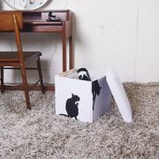 ボックススツール/ネコ
