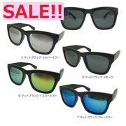 【TY2852】大人気!!マットBLACKフレーム×ミラーレンズサングラス♪【4色展開】