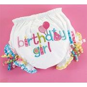 【3月まで受注予約】Mud Pie マッドパイ おむつカバー BIRTHDAY GIRL BLOOMER