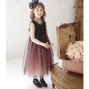 キッズドレス 魔女  コスプレ 子供 女の子 メルヘン ウィッチ ブラック 衣装 コスチューム ハロn