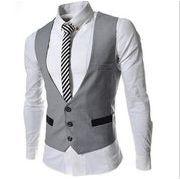 オフィス スーツベスト  結婚式メンズ ビジネス通勤オールシリーズ紳士 チョッキ 二次会 リクルート 礼服