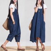 妊婦  マタニティドレス♪  大きいサイズ ファッション  デニムワンピース  2WAY
