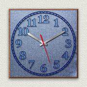 MYCLO デニム柄時計 01 オックスホバーデニム ブルー