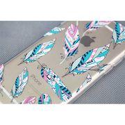 ボヘミアンiPhone6/6Sケース(フェザー)