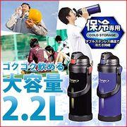 【大容量 水筒 2.2L】 [パール金属] チャージャー ダブルステンレススポーツジャグ2200