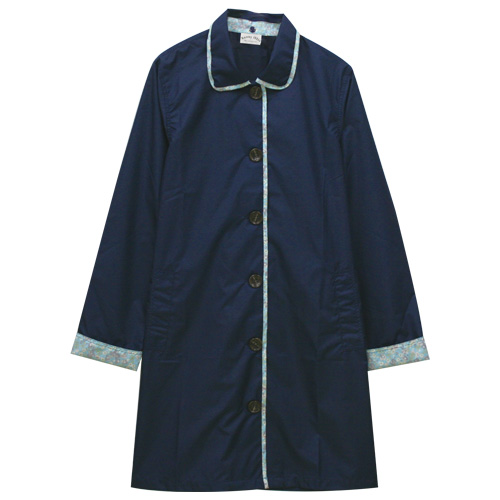 【レイングッズ】シンプルAラインコート 2種 レインコート レディース 婦人 雨具 梅雨 UVカット