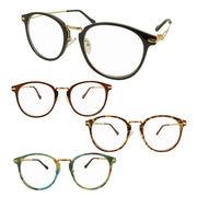 【TY2915】大人気!!おしゃれ♪♪★伊達メガネ【4色】♪♪ ボストン/眼鏡/丸メガネ/まんまる