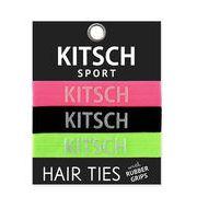 Kitsch(キッチュ)Sport ネオンカラーヘアアクセ3本セット/ヘアゴム/ブレスレット/Hair Ties