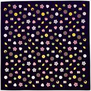 宮本 和雑貨 『おかみさんの大風呂敷』 和菓子 6330 70×70cm