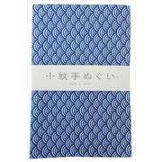 宮本 日本製 小紋手拭 青海波 約33×90cm