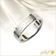 アウトレット特価!メタリックローマ(METALLICROME)ステンレス指輪単品