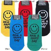 アンクルソックス/HAVE A HAPPY DAY