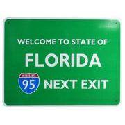 トラフィックサインボード FLORIDA NEXT EXIT 95