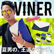 10パターン展開★【DIVINER】PUクラッチバッグ/メンズ 鞄 BAG バイカラー 小物