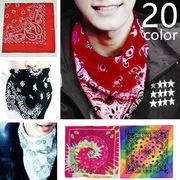 BC136301◆送料0円◆ROCKアイテム ネッカチーフ メンズ 豊富な品揃え スカーフ