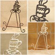 【SALE/値下げ】★レトロ調 ★ コベントアイアン プレートホルダー coffeeコーヒー♪