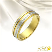 ル・セルリング(二人の誓い/Lesermentdedeuxpersonnes)ステンレス指輪単品