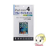 LCD-IPM4BCAR サンワサプライ iPad mini 4用ブルーライトカット液晶保護指紋反射防止フィルム