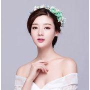 ヘッドドレス/ウェディング/レディース 結婚式 成人式/髪飾りレース 花冠/花輪