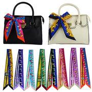 BLHW145395★5000以上送料無料★バッグ用スカーフ バッグに巻いてお洒落に演出 豊富カラー