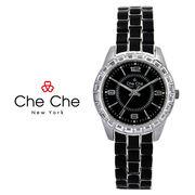 正規品【Che Che New York チチニューヨーク】腕時計[全2色] CC029-0078-BK