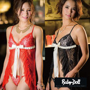 Baby Doll シースルーレース ベビードール&Tバック M ML21070/ML21071