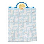 シロクマさんのアルミ保冷保温バッグ1個(ブルー)