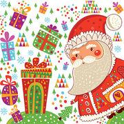 Paw Decor  Collection ペーパーナプキン クリスマス <サンタクロース×プレゼント>
