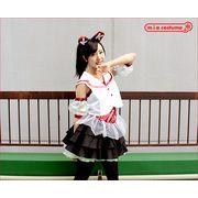 1146D★MB■送料無料■ ももいろアイドル 乙女衣装 (レッド) サイズ:M/BIG