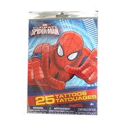 スパイダーマン タトゥーシール 25個