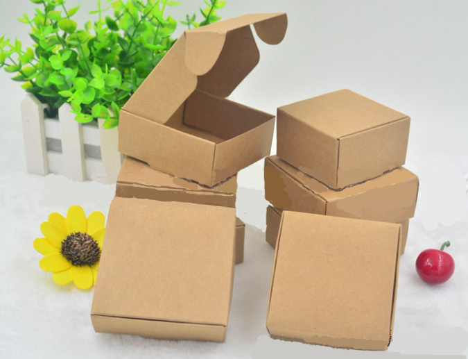 クラフト紙 キャンディーボックス ジュエリーボックス プレゼント ハトロン紙 ギフトラッピング