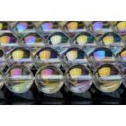 10mm 水晶レインボーオーラ 1連(約38cm)_R1347/A6-5