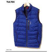 ★TULTEX★防風ニットで動き易く温かい!機能性とファッション性を兼ね備えた中綿ベスト★