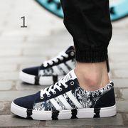 【ニュースタイル !!】★秋冬紳士のカジュアルシューズ紳士靴保温潮流を加えて板鞋低い運動靴